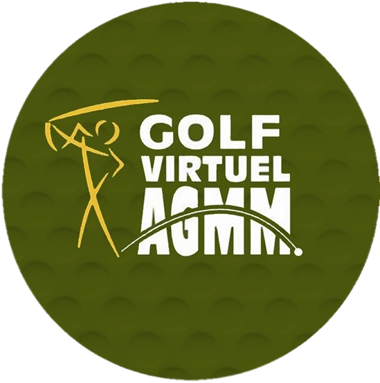 balle de golf: golf virtuel